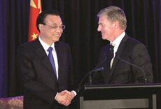 China, New Zealand agree to bolster economic ties