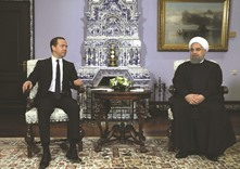 Iran's Rouhani seeks deals in warming ties with Russia