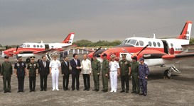 Japan loans Manila military planes for South China Sea