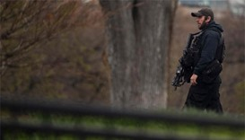Man detained with package outside White House