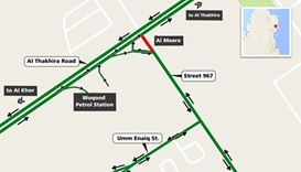 Street in Al Khor area to be partially closed