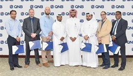 QNB names winners of raffle draw