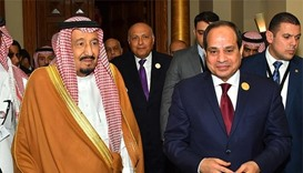 King Salman invites Egypt's Sisi to visit Saudi Arabia