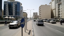 There are only a couple of ATMs in the densely populated Doha Jadeed area.