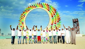 Maliyekal and his group aim to encourage more families to engage in kite flying