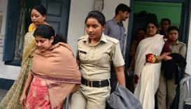India child protection officers held in trafficking probe