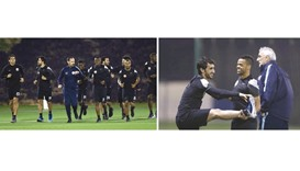Qatar resume training for World Cup qualifiers
