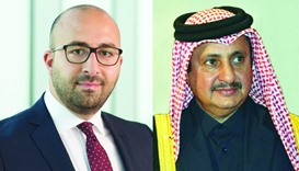 ICC Qatar Commission on Arbitration and ADR head Charbel Maakaron and ICC Qatar chairman Sheikh Khal