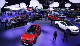A new Renault Kadjar car is seen during the 87th International Motor Show