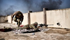 Snipers play cat and mouse in battle for Mosul