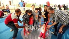 Al Bidda Park comeback draws visitors in droves