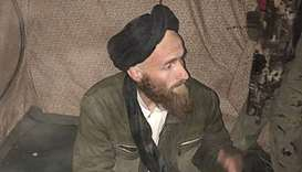 A man who identified himself as a German national after being arrested by Afghan commandos in Helman