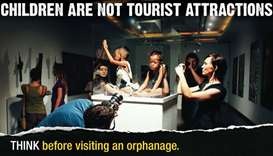 campaign to stop orphanage tourism