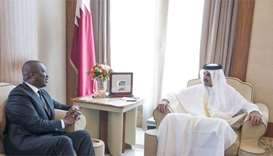 Emir receives message from Ivorian president