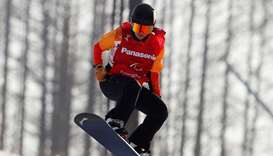 Dutch snowboarder wins Paralympic gold after cancer surgery