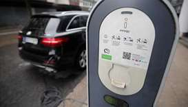 German automakers biggest spenders on electric cars: study