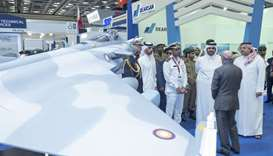 His Highness the Deputy Emir Sheikh Abdullah bin Hamad al-Thani and HE the Deputy Prime Minister and