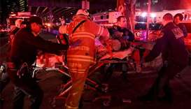 Five dead after helicopter crashes into New York river