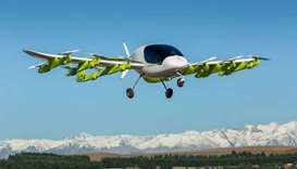 Self-piloted 'air taxi' takes to sky in New Zealand