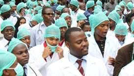 Doctors across Zimbabwe go on strike over pay, drug shortages