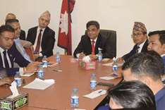 Nepali embassy holds interaction on SEZs in Qatar