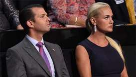 Donald Trump Jr's wife Vanessa files for divorce