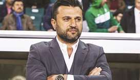 Turkish coach Bulent Uygun