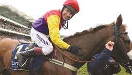 Jockey Richard Johnson