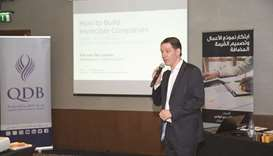QDB conducts 'business modelling' course