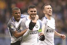 Icardi breaks goal drought by scoring four in Inter rout