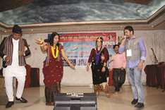 Nepali community enjoys music show at the first NFDSAN Qatar convention