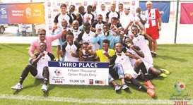 ALYSJ grab third place in Workers' Cup
