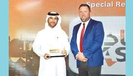 Astad wins special recognition award in Oman for its product 'Sanad'