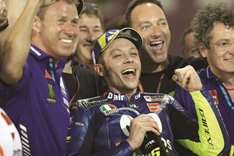 Rossi fights off wolves to take 192nd podium finish at Grand Prix of Qatar