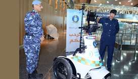 Robot adds to Hamad airport security