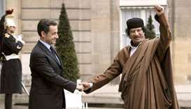 French ex-president Sarkozy held in Libya financing probe