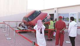Traffic awareness activities at Darb Al Saai