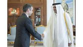 Emir meets Greek leader