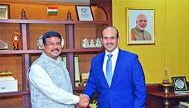 Qatar reiterates commitment to meet India's energy demand