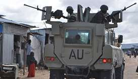 Suicide bomber rams car into Somali military base