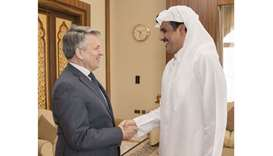 Emir meets chief executive of Royal Dutch Shell