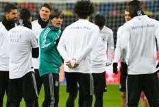 Germany coach Loew set to play strong hand against Spain