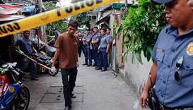 Philippine police say 13 killed in one day of drug busts