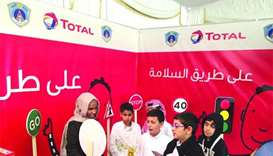 Total Qatar pitches in for traffic safety drive