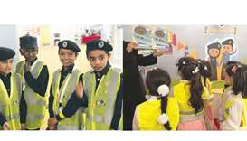 MoI Public Relations Dept participates in Traffic Week