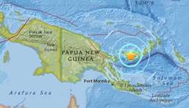Magnitude 6.3 quake strikes off Papua New Guinea, no tsunami threat