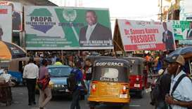 Sierra Leone court halts preparations for presidential run-off