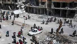 Fresh rebel withdrawals from Syria's shrinking Ghouta