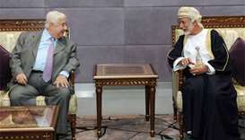 Syrian FM visits Oman on rare Gulf mission