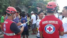 Seven dead after trucks crash into Philippines eatery